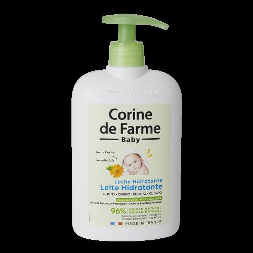 Leche Hidratante con Caléndula Calmante 500 ml
