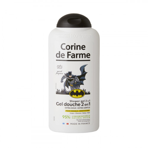 Gel douche 2en1 Extra Doux Corps & Cheveux Batman 300ml