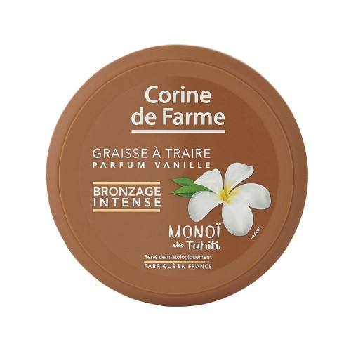 Graisse à Traire au Monoï de Tahiti Bronzage Intense - Vanille